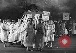 Image of Anti war marchers support disarmament United States USA, 1921, second 3 stock footage video 65675051090