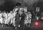 Image of Anti war marchers support disarmament United States USA, 1921, second 4 stock footage video 65675051090