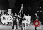 Image of Anti war marchers support disarmament United States USA, 1921, second 22 stock footage video 65675051090