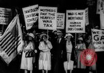 Image of Anti war marchers support disarmament United States USA, 1921, second 31 stock footage video 65675051090