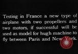 Image of DeMonge type 7 5 aircraft France, 1924, second 5 stock footage video 65675051097