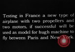 Image of DeMonge type 7 5 aircraft France, 1924, second 7 stock footage video 65675051097