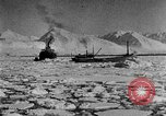 Image of North Pole expedition Spitsbergen Svalbard Norway, 1926, second 22 stock footage video 65675051108