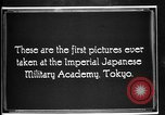 Image of Cadets training at Imperial Japanese Military Academy in Tokyo Japan, 1928, second 2 stock footage video 65675051154