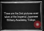 Image of Cadets training at Imperial Japanese Military Academy in Tokyo Japan, 1928, second 7 stock footage video 65675051154
