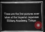 Image of Cadets training at Imperial Japanese Military Academy in Tokyo Japan, 1928, second 8 stock footage video 65675051154