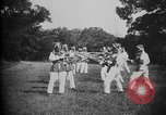 Image of Cadets training at Imperial Japanese Military Academy in Tokyo Japan, 1928, second 13 stock footage video 65675051154