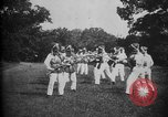 Image of Cadets training at Imperial Japanese Military Academy in Tokyo Japan, 1928, second 14 stock footage video 65675051154