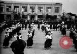 Image of Cadets training at Imperial Japanese Military Academy in Tokyo Japan, 1928, second 55 stock footage video 65675051154