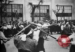 Image of Cadets training at Imperial Japanese Military Academy in Tokyo Japan, 1928, second 62 stock footage video 65675051154