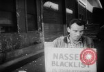 Image of ship picketing United States USA, 1960, second 21 stock footage video 65675051191