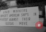 Image of ship picketing United States USA, 1960, second 42 stock footage video 65675051191