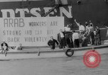 Image of ship picketing United States USA, 1960, second 48 stock footage video 65675051191