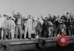 Image of ship picketing United States USA, 1960, second 60 stock footage video 65675051191