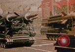 Image of Soviet SS-N-5 missile Moscow Russia Soviet Union, 1968, second 8 stock footage video 65675051240