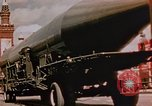 Image of Soviet SS-N-5 missile Moscow Russia Soviet Union, 1968, second 27 stock footage video 65675051240