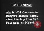 Image of Lieutenant Commander John Rodgers United States USA, 1925, second 35 stock footage video 65675051258