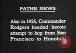 Image of Lieutenant Commander John Rodgers United States USA, 1925, second 36 stock footage video 65675051258
