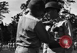 Image of Major general O W Griswold Bougainville Solomon Islands, 1944, second 30 stock footage video 65675051302