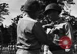 Image of Major general O W Griswold Bougainville Solomon Islands, 1944, second 31 stock footage video 65675051302