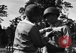 Image of Major general O W Griswold Bougainville Solomon Islands, 1944, second 35 stock footage video 65675051302