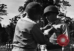 Image of Major general O W Griswold Bougainville Solomon Islands, 1944, second 37 stock footage video 65675051302