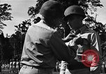 Image of Major general O W Griswold Bougainville Solomon Islands, 1944, second 38 stock footage video 65675051302