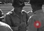 Image of Major general O W Griswold Bougainville Solomon Islands, 1944, second 45 stock footage video 65675051302