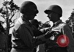 Image of Major general O W Griswold Bougainville Solomon Islands, 1944, second 49 stock footage video 65675051302