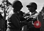 Image of Major general O W Griswold Bougainville Solomon Islands, 1944, second 50 stock footage video 65675051302