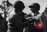 Image of Major general O W Griswold Bougainville Solomon Islands, 1944, second 51 stock footage video 65675051302