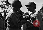 Image of Major general O W Griswold Bougainville Solomon Islands, 1944, second 52 stock footage video 65675051302