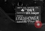 Image of General Eisenhower United Kingdom, 1944, second 3 stock footage video 65675051306