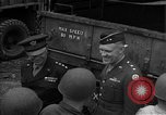 Image of General Eisenhower United Kingdom, 1944, second 35 stock footage video 65675051306