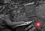 Image of United States 127th Field Artillery Regiment Saint Lo France, 1944, second 47 stock footage video 65675051310