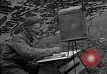 Image of United States 127th Field Artillery Regiment Saint Lo France, 1944, second 48 stock footage video 65675051310