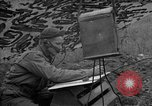 Image of United States 127th Field Artillery Regiment Saint Lo France, 1944, second 51 stock footage video 65675051310
