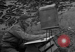 Image of United States 127th Field Artillery Regiment Saint Lo France, 1944, second 53 stock footage video 65675051310