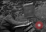Image of United States 127th Field Artillery Regiment Saint Lo France, 1944, second 55 stock footage video 65675051310