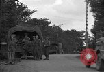 Image of United States 127th Field Artillery Regiment Saint Lo France, 1944, second 7 stock footage video 65675051314