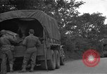 Image of United States 127th Field Artillery Regiment Saint Lo France, 1944, second 15 stock footage video 65675051314