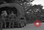 Image of United States 127th Field Artillery Regiment Saint Lo France, 1944, second 16 stock footage video 65675051314