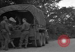 Image of United States 127th Field Artillery Regiment Saint Lo France, 1944, second 18 stock footage video 65675051314