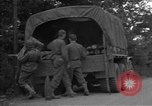 Image of United States 127th Field Artillery Regiment Saint Lo France, 1944, second 19 stock footage video 65675051314