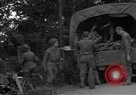 Image of United States 127th Field Artillery Regiment Saint Lo France, 1944, second 21 stock footage video 65675051314