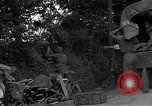 Image of United States 127th Field Artillery Regiment Saint Lo France, 1944, second 26 stock footage video 65675051314
