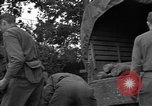 Image of United States 127th Field Artillery Regiment Saint Lo France, 1944, second 31 stock footage video 65675051314