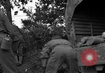 Image of United States 127th Field Artillery Regiment Saint Lo France, 1944, second 32 stock footage video 65675051314