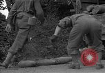 Image of United States 127th Field Artillery Regiment Saint Lo France, 1944, second 35 stock footage video 65675051314