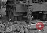 Image of United States 127th Field Artillery Regiment Saint Lo France, 1944, second 46 stock footage video 65675051314